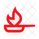 Pan Fire Frying Icon