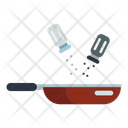 Salt Seasoning Pan Icon