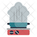 Pan Steam Cooker Icon