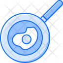 Pan Fried Egg Icon