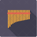Pan Flute Wind Icon