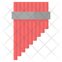 Pan Pipe Instruments Music Icon