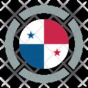 Panama Flag Icon