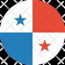 Panama Flag Country Icon