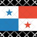 Panama Flag World Icon