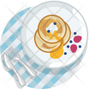 Pancake Sweet Desert Icon