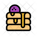 Pancake Food Dessert Icon
