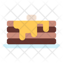 Pancake Cake Bakery Icon