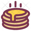 Breakfast Food Pancake Icon