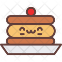 Pancakes Bakery Breakfast Cake Icon