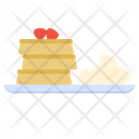 Pancake French Toast Icon