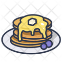Pancake Sweet Breakfast Icon