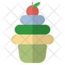 Pancake Cake Food Icon