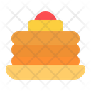 Pancake Food Breakfast Icon