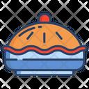 Pancake Pastry Cake Icon