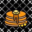 Breakfast Cake Dessert Icon