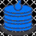 Restaurant Food Pancake Icon