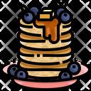 Pancake Cake Dessert Icon