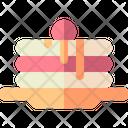 Pancake Dessert Meal Icon