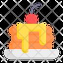 Pancake Pancakes Crepe Icon