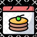Pancake day Icon
