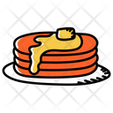 Muffins Pancakes Bakery Food Icon