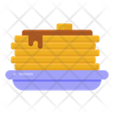 Pancakes Flat Cakes Hot Cake Icon