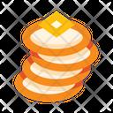 Pancakes Vegetarian Sweet Icon