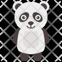 Panda Bear Baby Icon