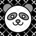 Panda Funny Animal Pet Animal Icon