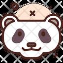 Panda Animal Creature Icon