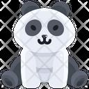 Panda Bear Grizzly Icon