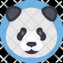 Panda Bear Face Icon
