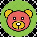 Panda Face Bear Icon