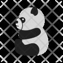 Panda Animal Wildlife Icon