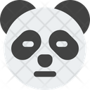 Panda Closed Eyes Icon