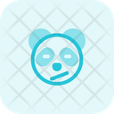 Panda Closed Eyes Confused Icon