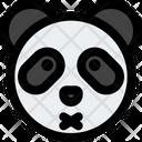 Panda Closed Mouth Icon