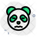 Panda Confounded Animal Wildlife Icon