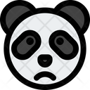 Panda Frowning Icon