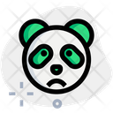 Panda Frowning Animal Wildlife Icon