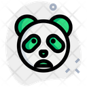 Panda Frowning Open Mouth Animal Wildlife Icon