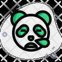 Panda Snoring Animal Wildlife Icon