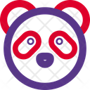 Panda Without Mouth Icon