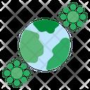 Pandemic Coronavirus Virus Icon