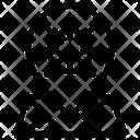 Virus Corona Location Icon