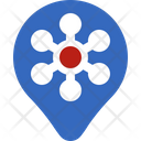 Place Location Infection Icon