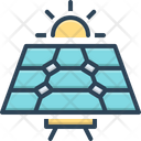 Panel Solar Panel Sun Icon