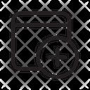 Panel Add Panel Chip Robotic Icon