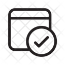 Panel Check Panel Chip Robotic Icon